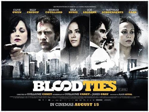Blood Ties Poster #13