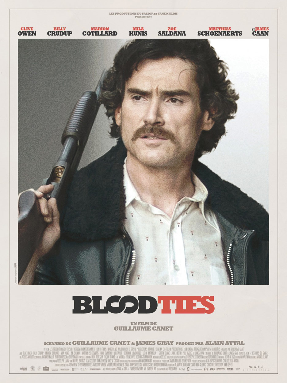 Blood Ties Poster #2
