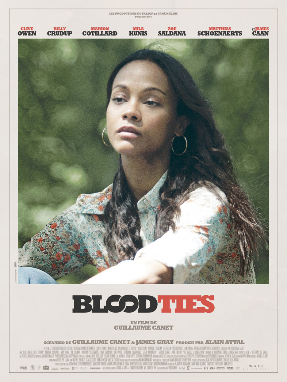 Blood Ties Poster #3