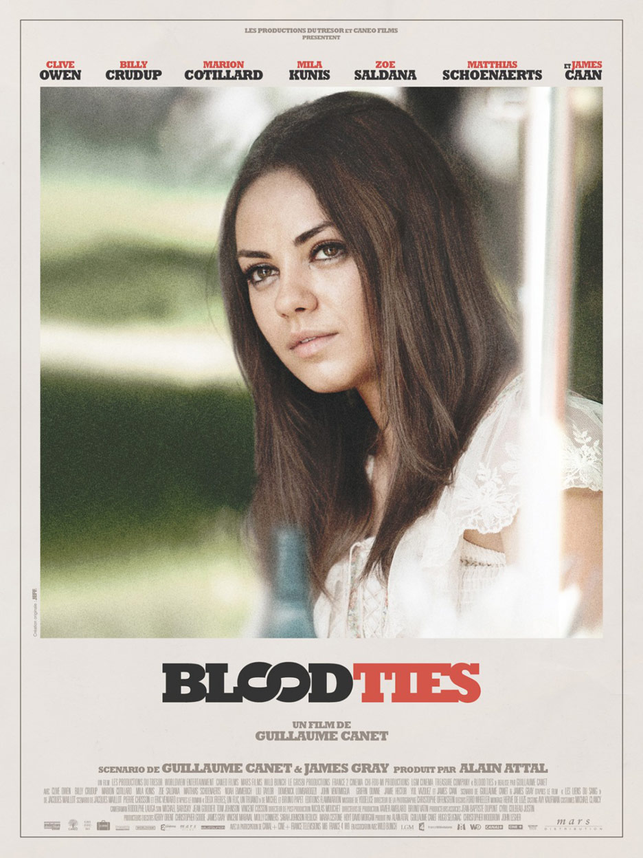 Blood Ties Poster #4