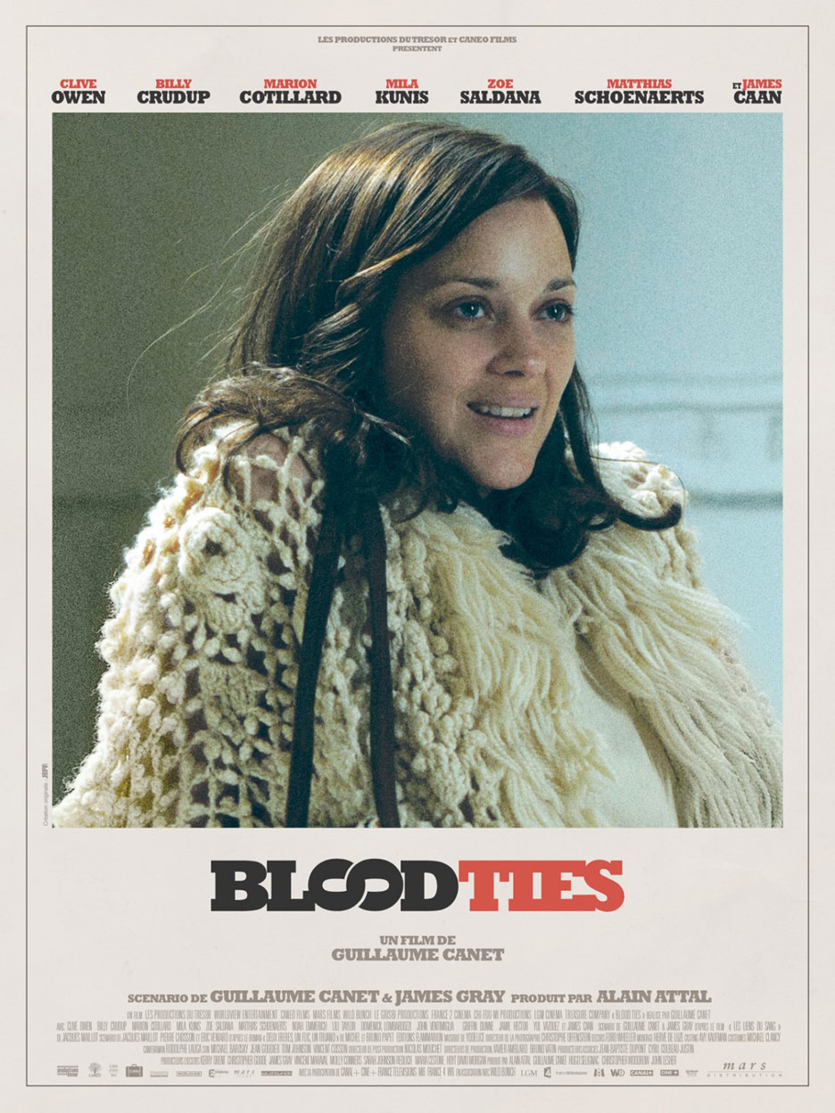 Blood Ties Poster #6