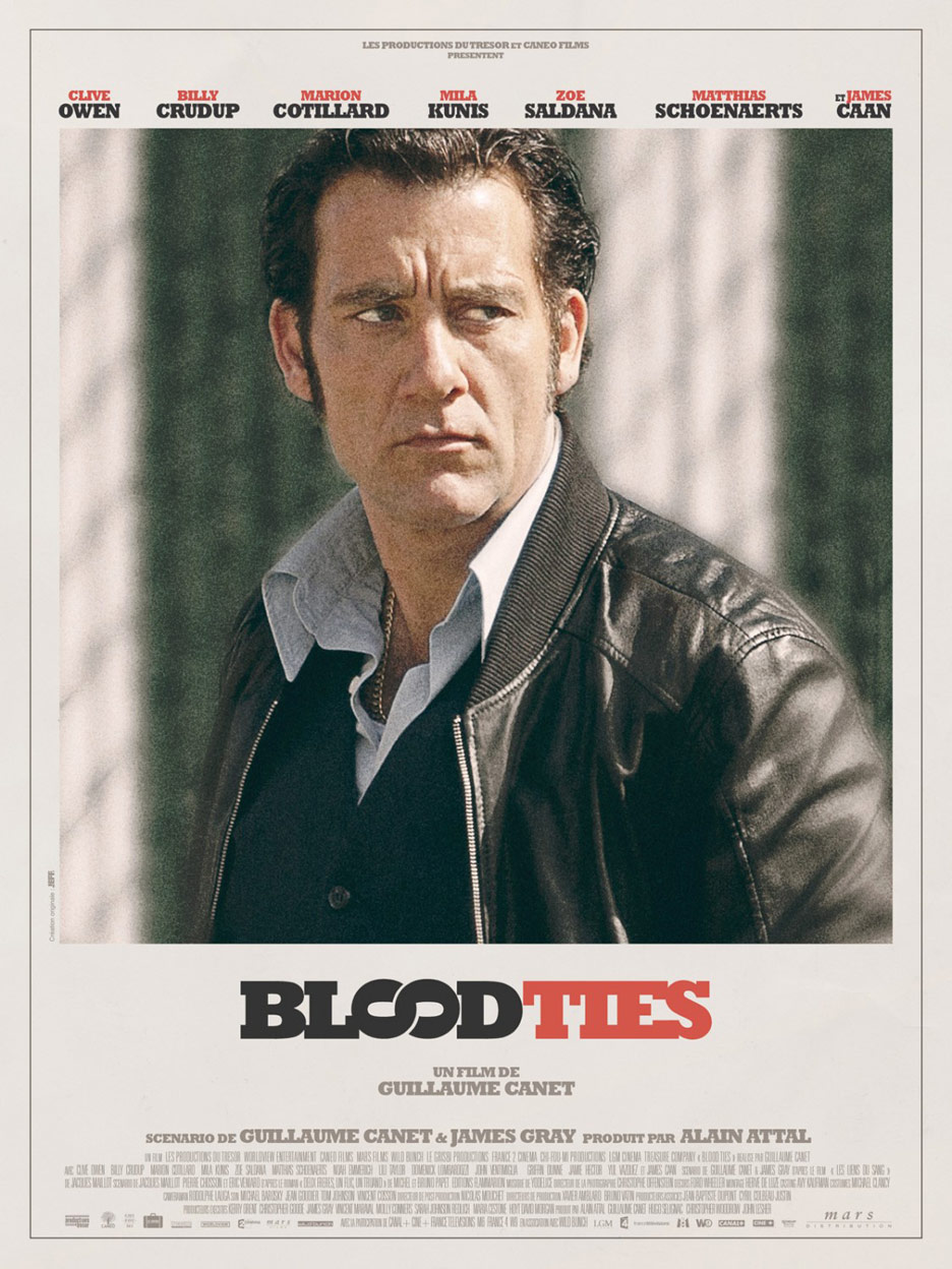 Blood Ties Poster #8