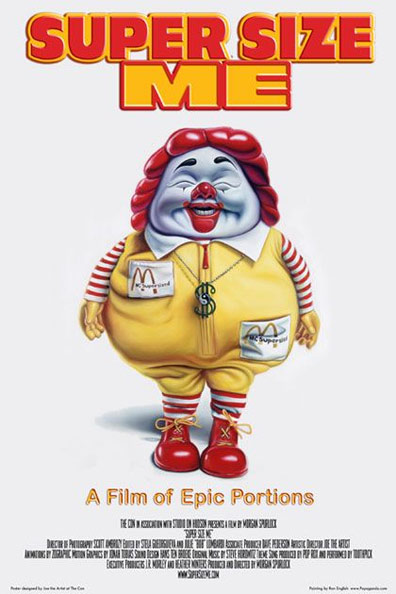 Super Size Me Poster #2