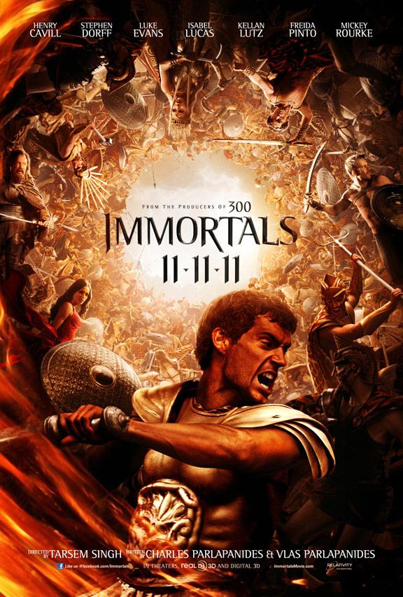 Immortals Poster #10