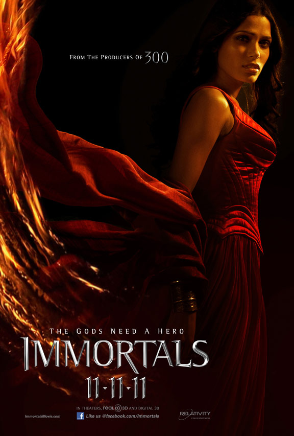 Immortals Poster #8