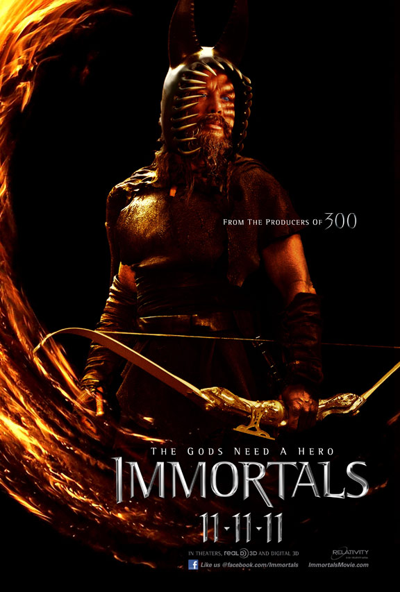 Immortals Poster #9