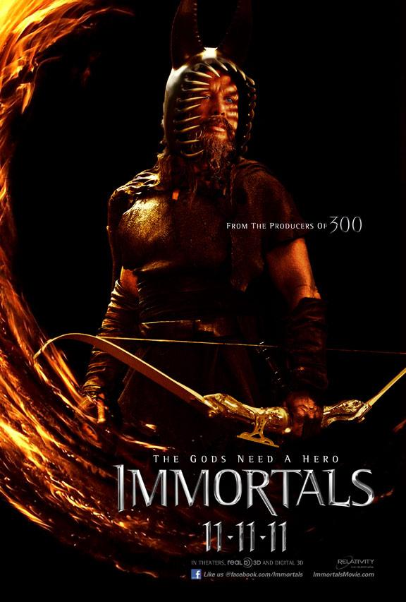 Immortals Poster #9