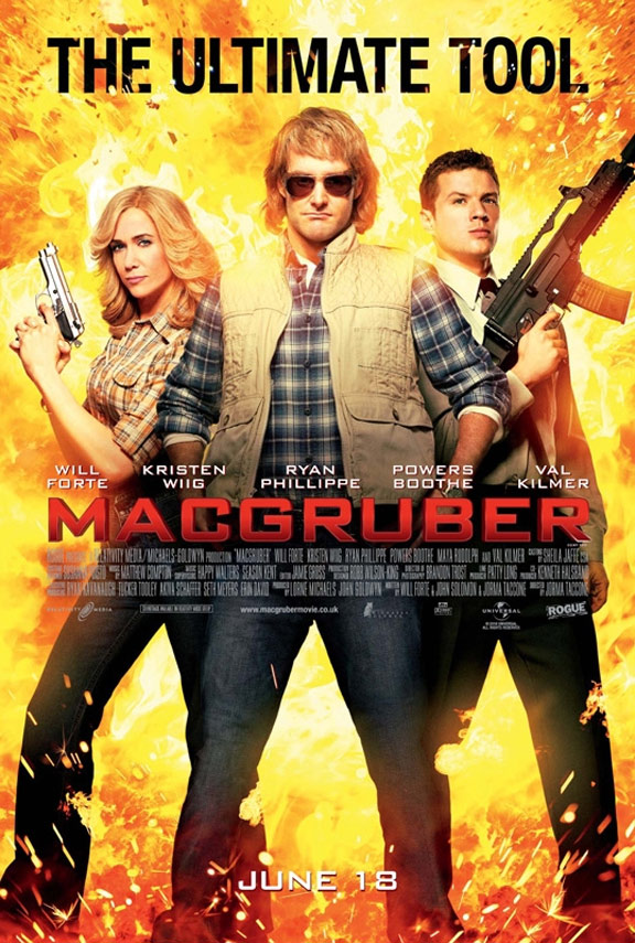 MacGruber Poster #2