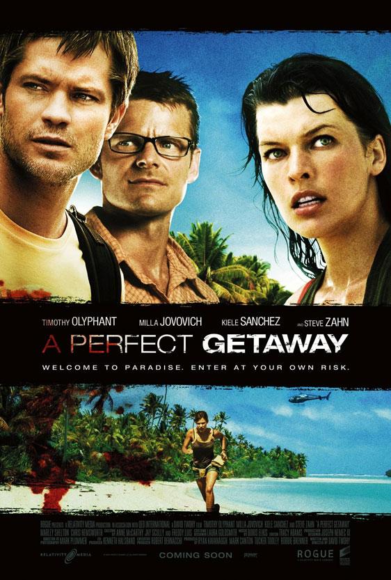 A Perfect Getaway Poster #4