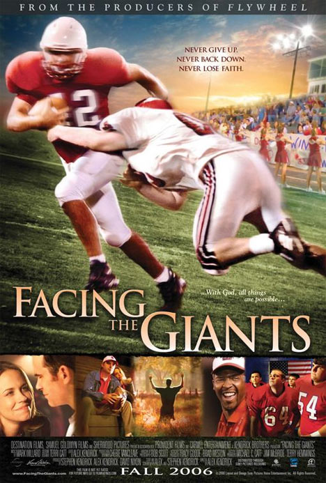 Facing the Giants Poster #1