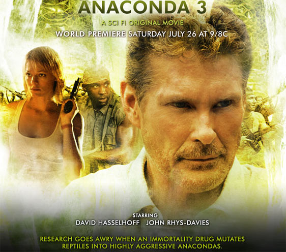 Anaconda 3: The Offspring Poster