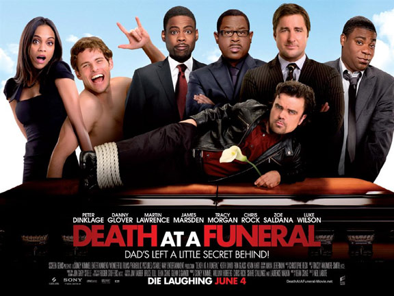 Death at a Funeral Poster #2