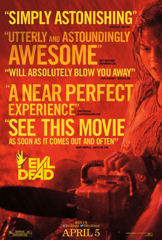 Evil Dead Poster #4