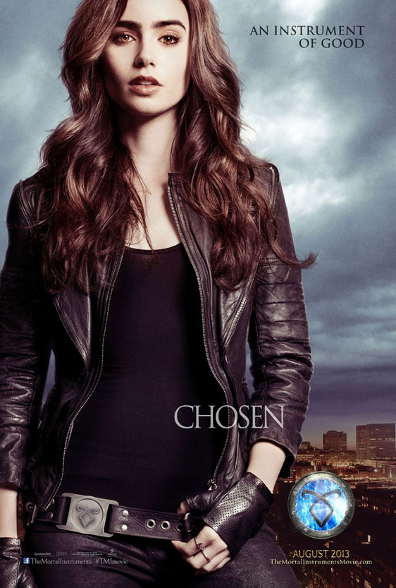 The Mortal Instruments: City of Bones Poster #4
