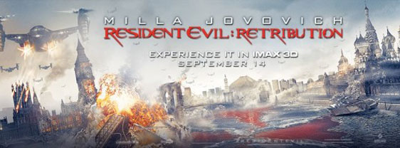 Resident Evil: Retribution Poster #10