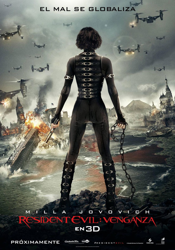 Resident Evil: Retribution Poster #2