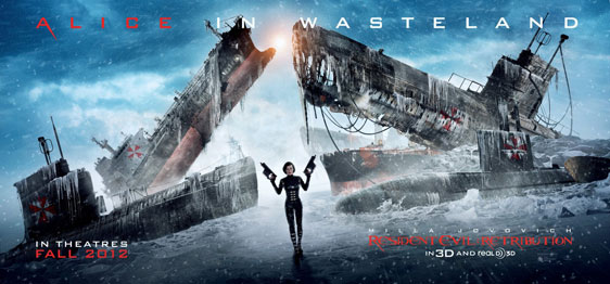 Resident Evil: Retribution Poster #4