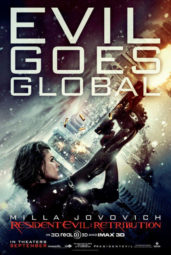 Resident Evil: Retribution Poster #5