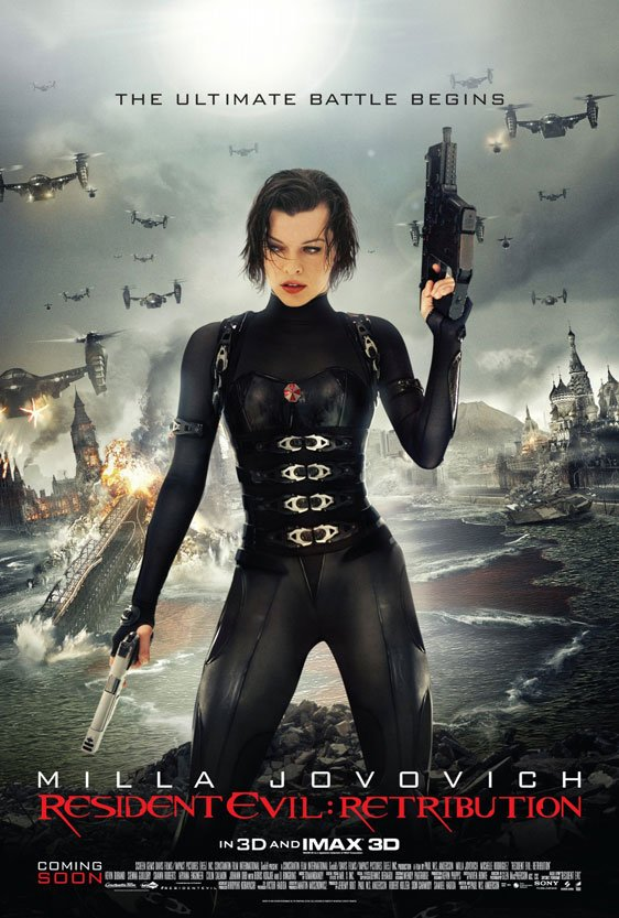 Resident Evil: Retribution Poster #7