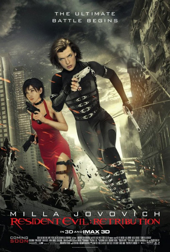 Resident Evil: Retribution Poster #8