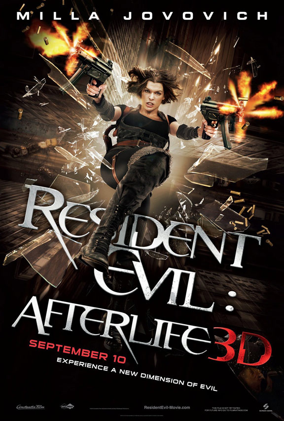 Resident Evil: Afterlife Poster #2