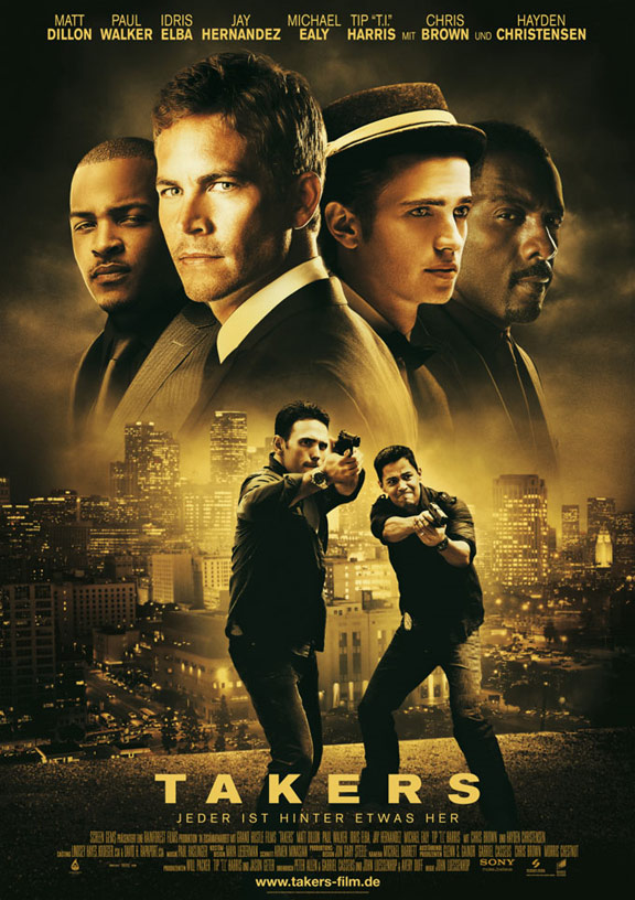 Takers Poster #2