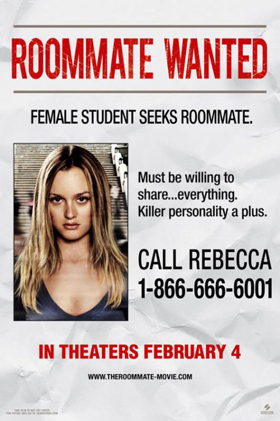 The Roommate Poster #2