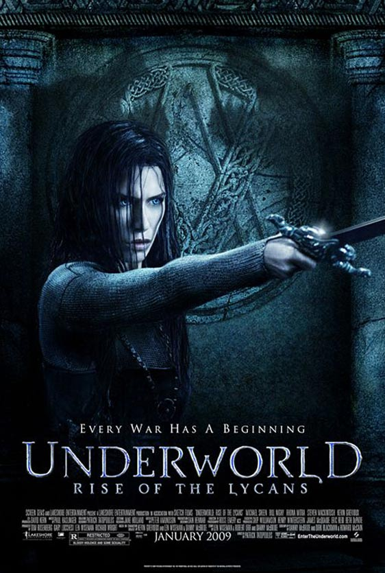 Underworld: Rise of the Lycans Poster #2