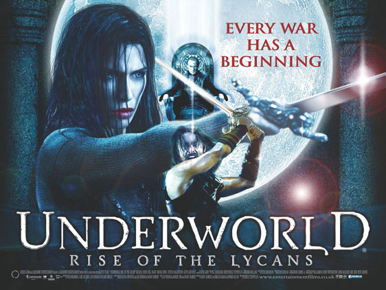 Underworld: Rise of the Lycans Poster #4