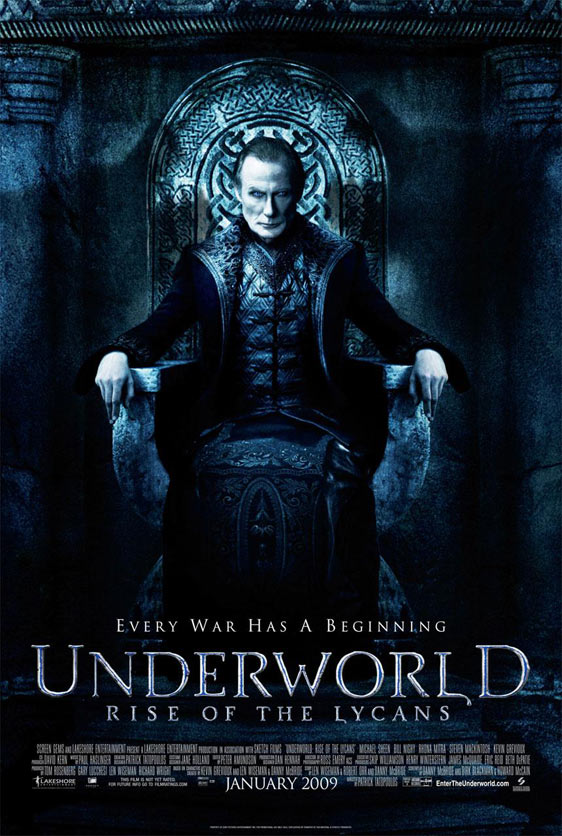 Underworld: Rise of the Lycans Poster #1
