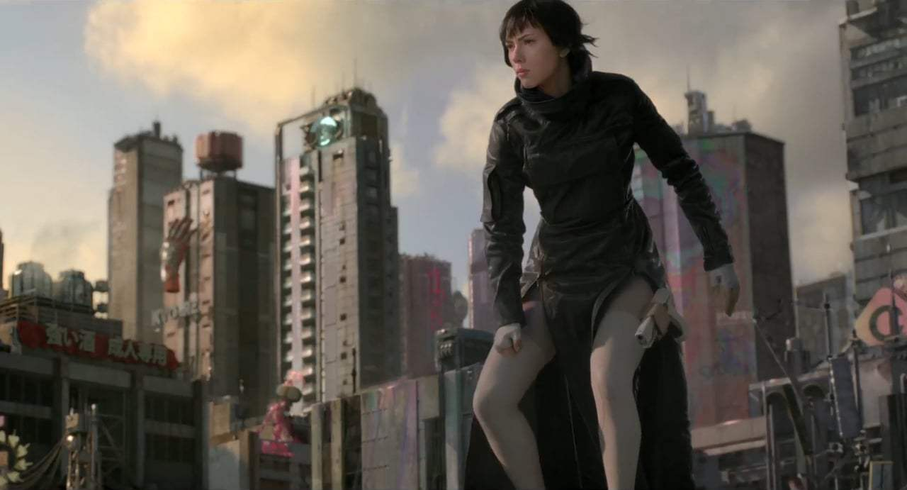 Ghost in the Shell TV Spot - Major C (2017) Screen Capture