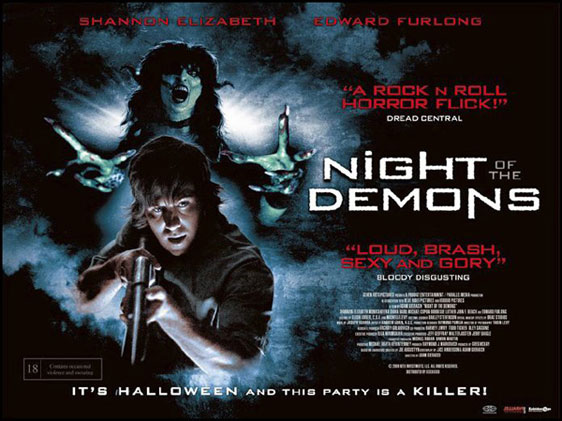 Night of the Demons Poster #2