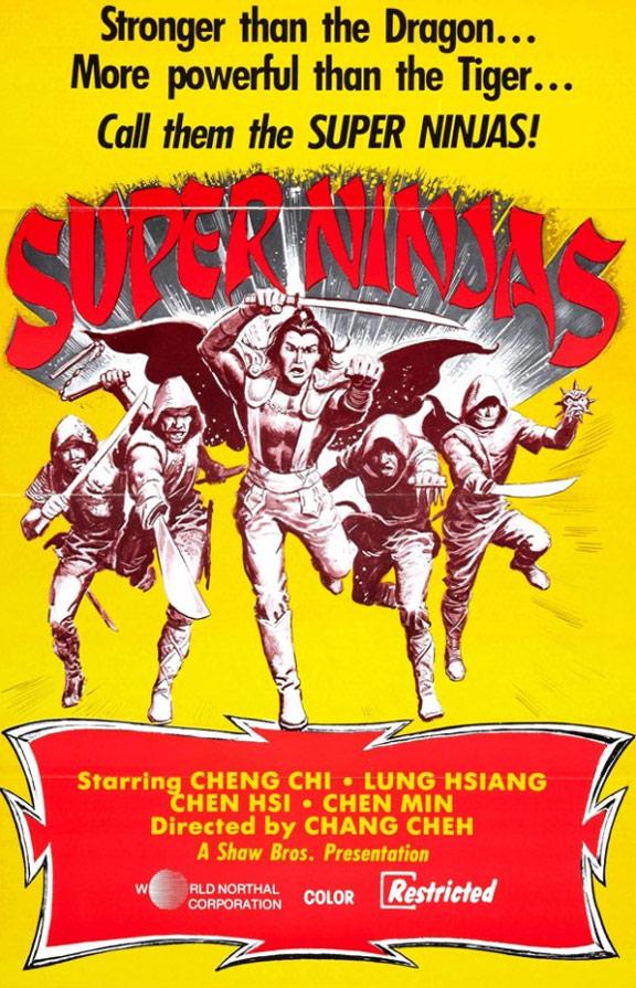 Five Element Ninjas (Ren zhe wu di) Poster #2