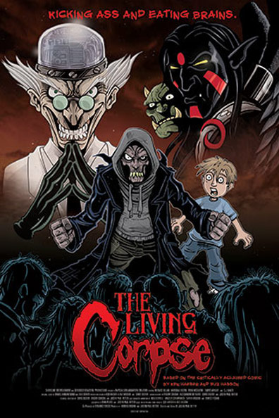 The Living Corpse Poster