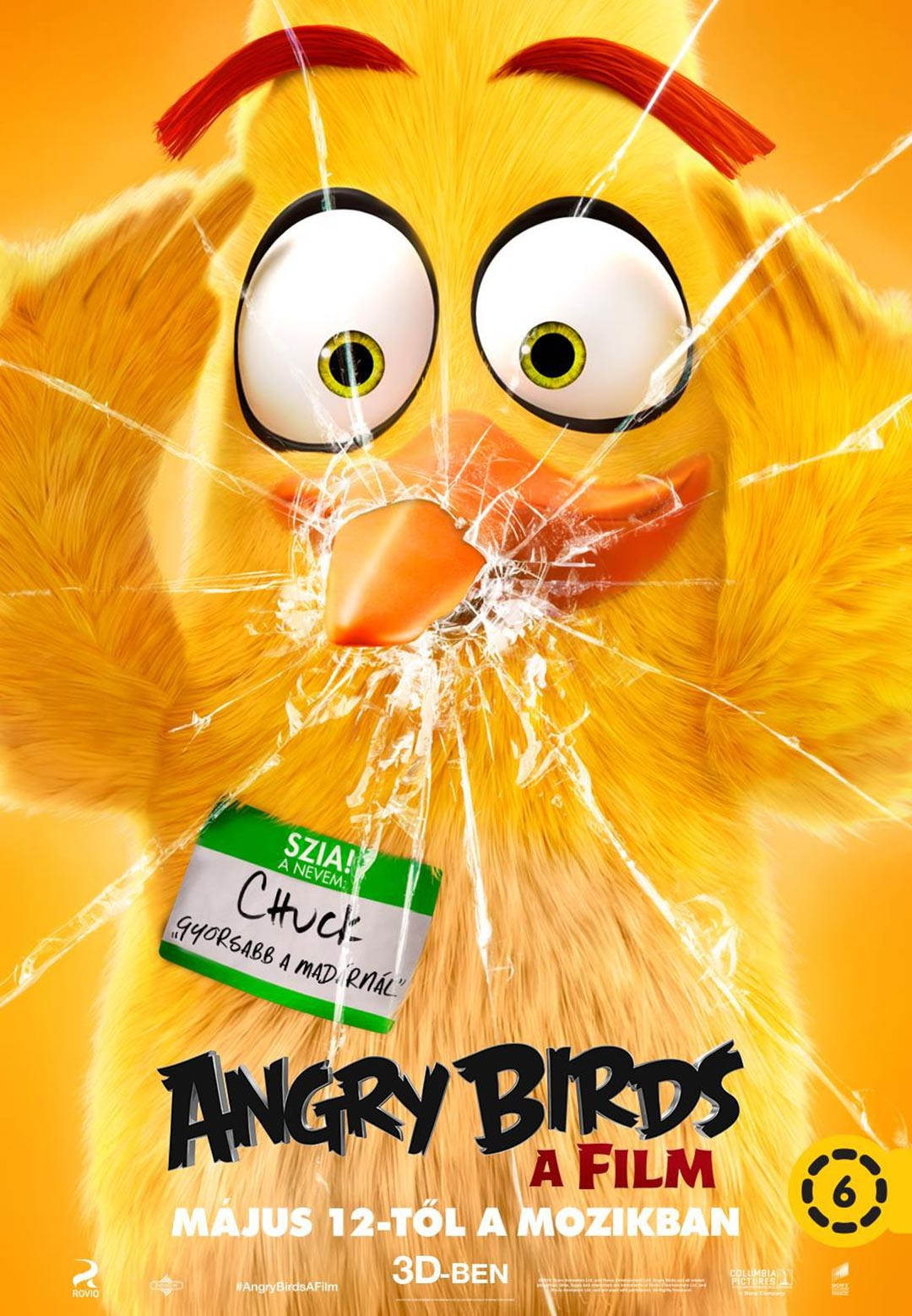 angry birds 2016 poster 1   trailer addict