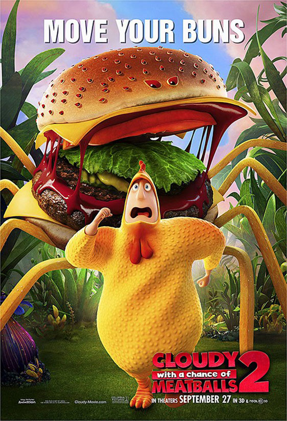 Cloudy with a Chance of Meatballs 2 Poster #6