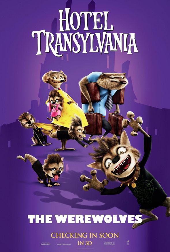 Hotel Transylvania Poster #2