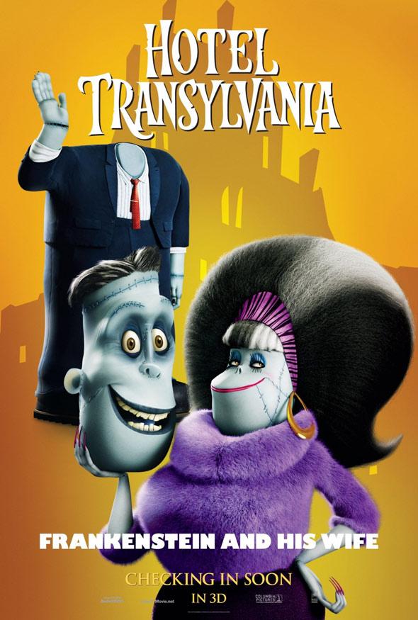 Hotel Transylvania Poster #4