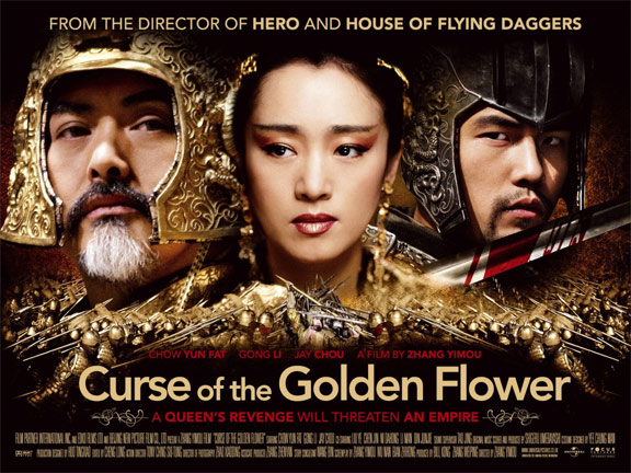 Curse of the Golden Flower Poster #2