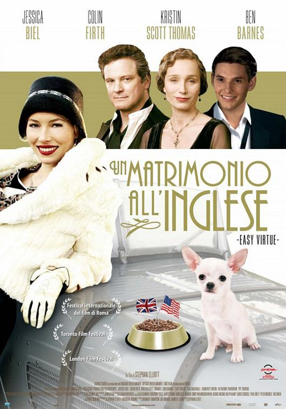 Easy Virtue Poster #3