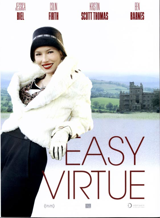 Easy Virtue Poster