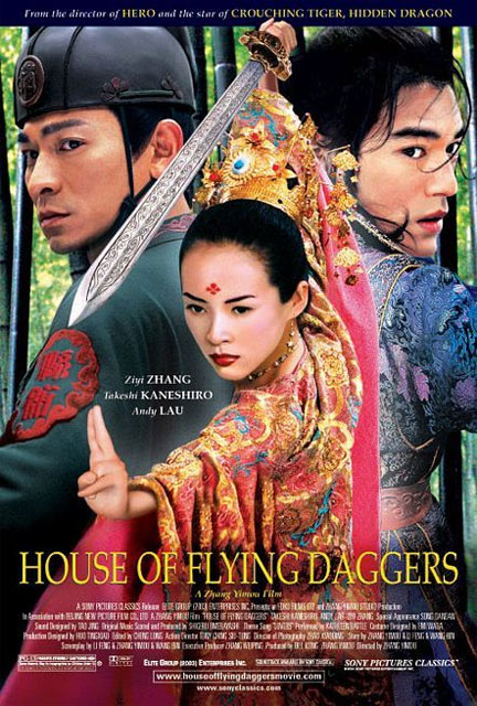 House of Flying Daggers Poster #1
