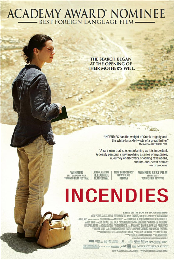 Incendies Poster #2