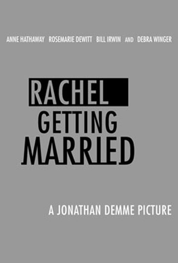 Rachel Getting Married Poster #1