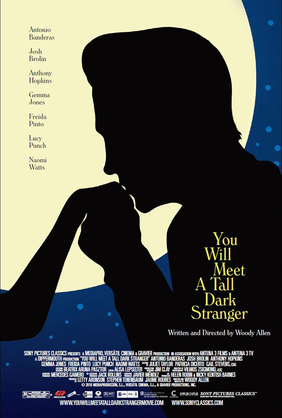 You Will Meet a Tall Dark Stranger Poster #2