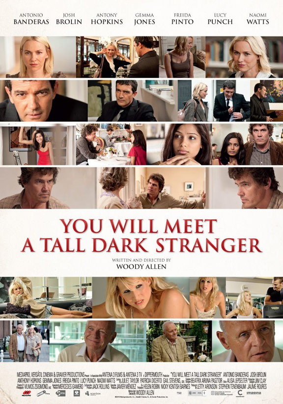 You Will Meet a Tall Dark Stranger Poster #3