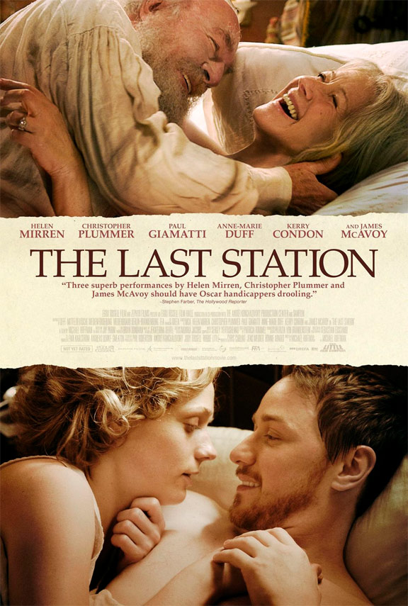 The Last Station Poster #1