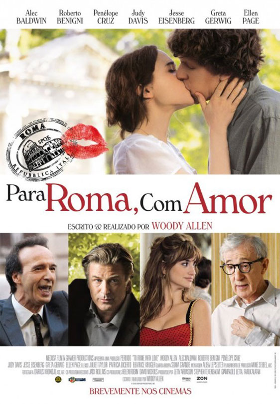To Rome with Love Poster #2