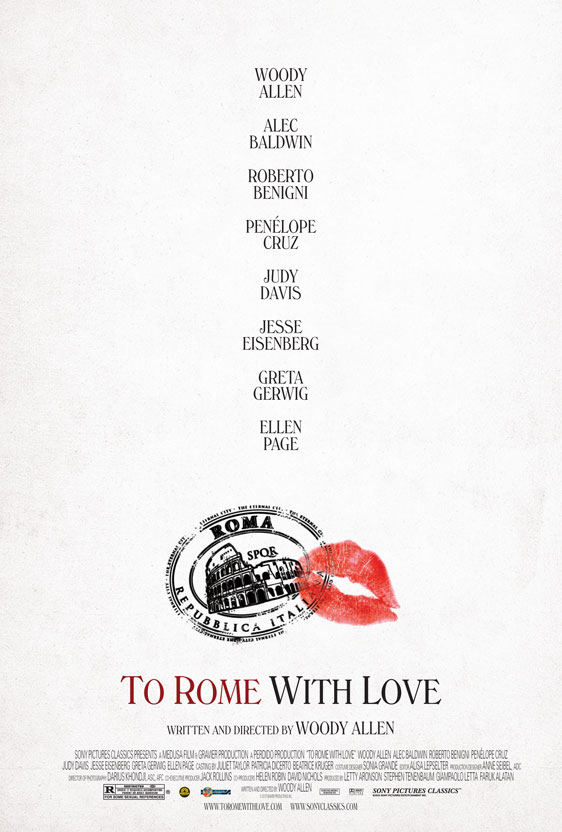 To Rome with Love Poster #1