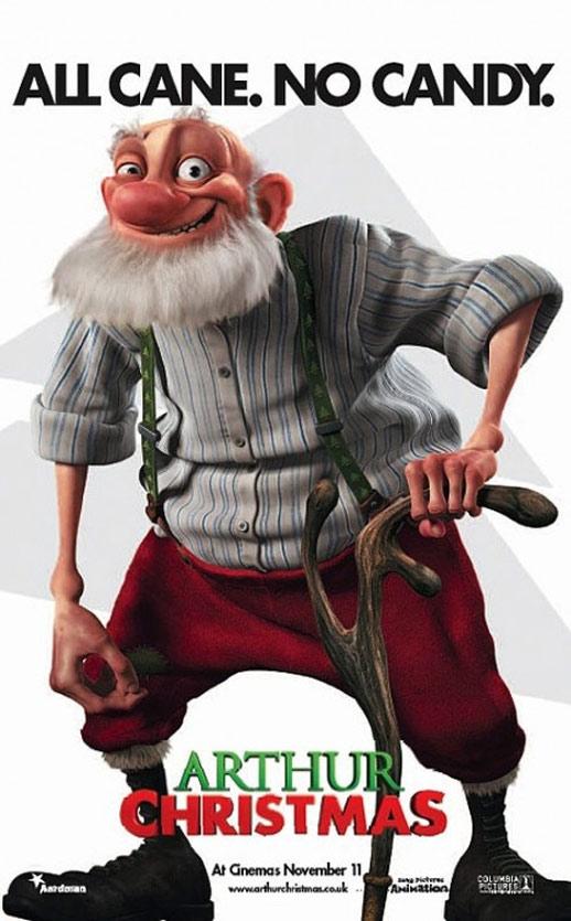 Arthur Christmas Poster #4